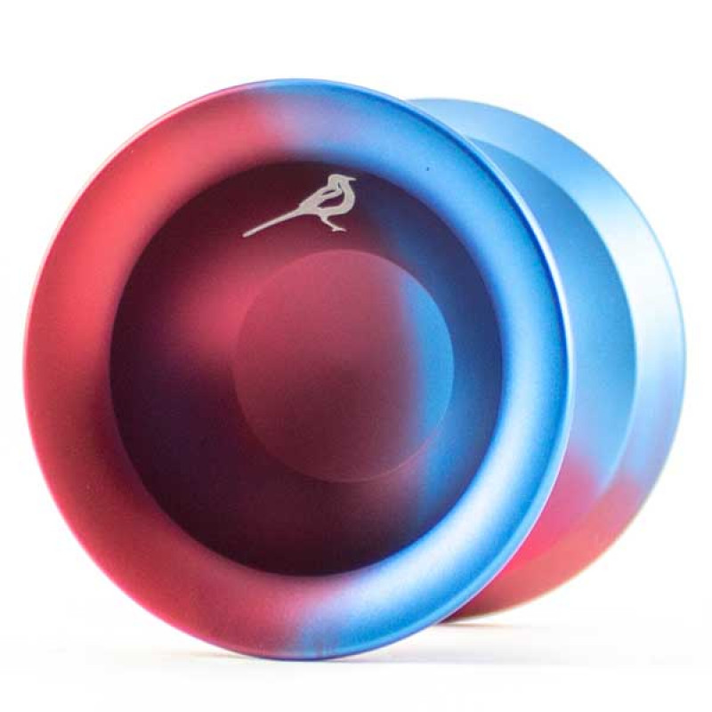 YoyoFriends Magpie Blue / Red Fade