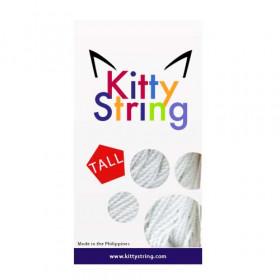 Kitty String Tall Fat 100-Pack White
