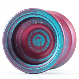 TopYo Selene Red / Blue Brushstrokes