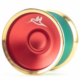 YoyoFriends Hummingbird Green/Red / Gold