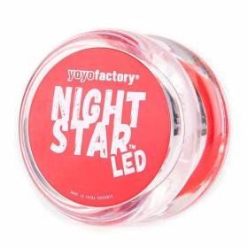 YoYoFactory Nightstar (LED-lys) Roed