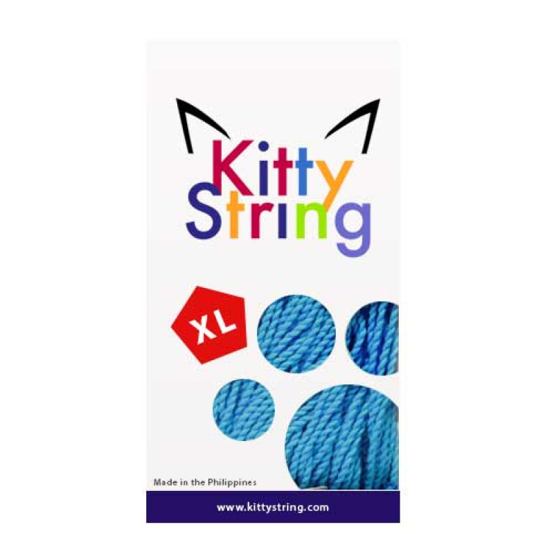 Kitty String XL 100-Pack Baby Blue