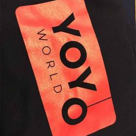 Team YoYoWorld Hoodie (unisex) - Blå / Rød
