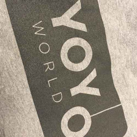 Team YoYoWorld Hoodie (unisex) - Grå