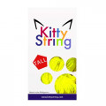 Kitty String Tall Fat 100-Pack Yellow