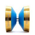 YoYoFactory Edge Beyond Blue w/ Gold Rims Gap