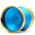 YoYoFactory Edge Beyond Blue w/ Gold Rims
